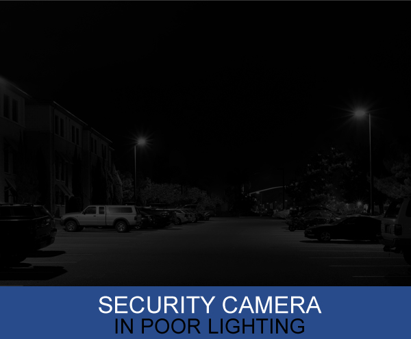 Security Camera In Poor Lighting