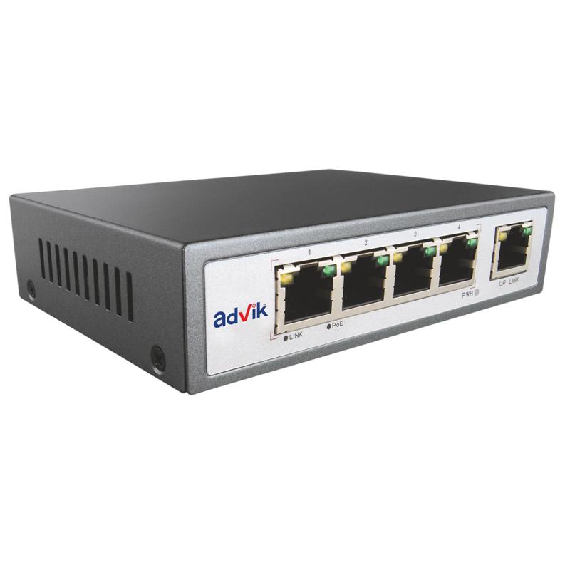 poe switch 4 port with 4 poe port 15 4w
